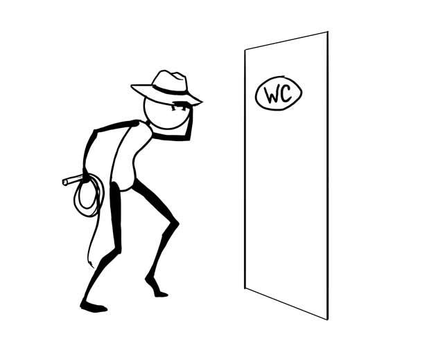 Мы ищем туалеты, как Индиана Джонс ищет сокровища