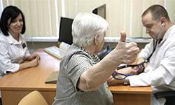 Бабушка на приёме у врача