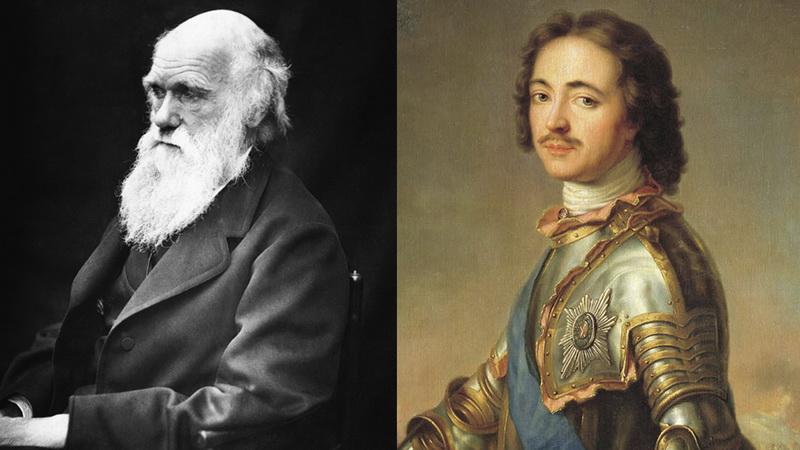 Петр I и Дарвин