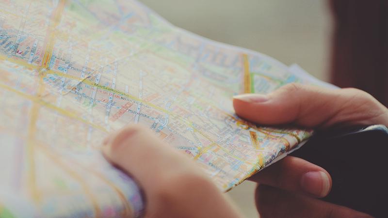 Карта в руках