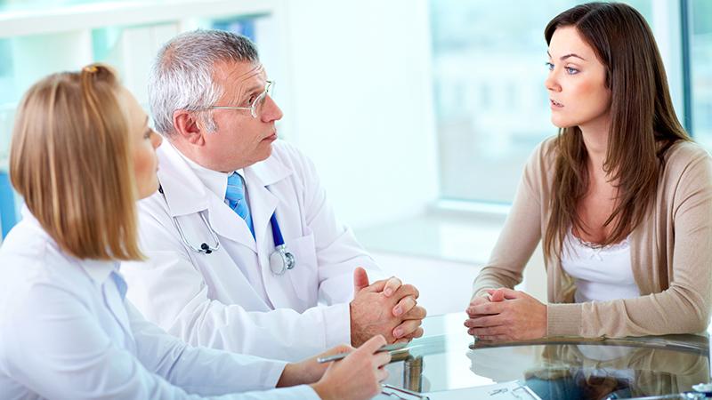 Приём у врача