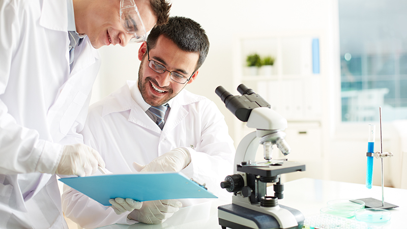 Два учёных