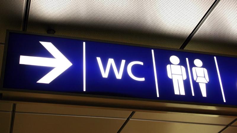 Указатель в туалет